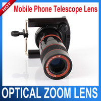 Wholesale Mobile phone telescope Digital binoculars Optical Zoom Lens