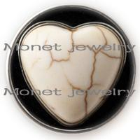 achat en gros de bouton en forme de bricolage-A10237 chaude en forme de coeur en forme de noosa noosa morceau de noyé diy bouton snaps fot pour tout bracelet noosa