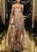 Hot Sale Evening Dresses Sexy Off- Shoulder Applique Formal O...