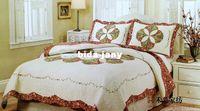 Wholesale american large size embroidery adult romantic lover patchwork cotton set quilt cover sets hotsale promotion