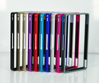 For Sony   Fashion Aluminium Metal Middle Bumper Case For Sony Xperia Z L36h