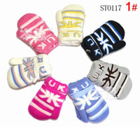 Wholesale ST0117 children fashion warm gloves boys girls colourful mittens kids meters characters flag designs winter accessories jlbgmy