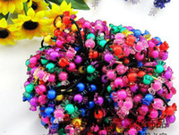 Wholesale Fashion women baby girl candy hair bands hair rope holder Hair Jewelry headband mixed colors gift