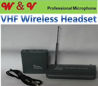 headset microphone - Wireless Microphone Professional VHF Wireless headset microphone System Factory Outlet Good quality