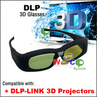 Wholesale Top Rank DLP Link D Active Shutter Glasses Projectors Universal Rechargeable