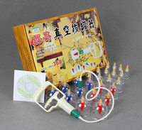 acupuncture cupping sets - Chinese Medical Body Cupping Set Kit Health Massage Acupuncture Suction Pump Connector Tube lt lt lt trueyr