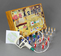 Wholesale Chinese Medical Body Cupping Set Kit Health Massage Acupuncture Suction Pump Connector Tube lt lt lt trueyr