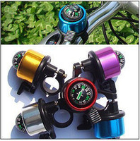 Cheap Free Shipping 2pcs lot Bicycle Bell Ring,Metal Bell Ring,Metal Bell Ring Compass For Bike Bicycle