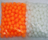 Wholesale 300pcs bag Table Tennis Balls draw ball cannot be used as a training white and orange two choose
