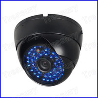 Wholesale 600TVL CCTV Dome Security Camera IR LED SONY CCD Outdoor Vandalproof Camera MM Lens Wide Angle