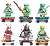 Wholesale Teenage Mutant Ninja Turtles Minifigure Building Blocks Sets Figure Legoland DIY Bricks toys for children