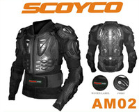 Wholesale 2013 Scoyco AM02 Motocross Armour Full Protector Gears Racing Protective Motorcycle Armor Body Guard Motorbike Jacket armor protect security