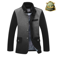 Wholesale 2014 Top Quality brand men s clothing Jackets for men coats winter and autumn jacket slim fit outdoor mens jacket coat fashion men overcoat