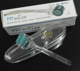 Wholesale MT Micro Needle Derma Roller for Skin Derma Rolling System Skin Care