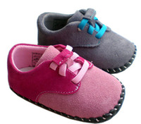 Girl Winter Cotton 30%off 2color*HOT*High-grade leather baby shoes! Casual slip toddler shoes baby wear shoes online kid shoes cheap 3pairs 6pcs ZB