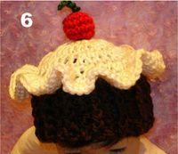 Boy Winter Crochet Hats Wholesale - -20pcsi Hand hook children's hats Hand-made cotton double color flower girl hat