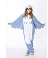 Unisex animal owl onesie - Hot Owl pajamas onesie pyjamas cosplay costume adult romper xmas