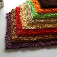 Wholesale 40 cm Microfiber Chenille Bath Mat Carpet Kitchen Bath Rug Mat Doormat Room Pad