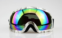 Wholesale DOLLAR BILL FRAME COLOURED LENS ADULT MOTOCROSS SNOW SNOWBOARD SKI GOGGLES