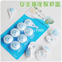 Wholesale 10pcs Baby Child Electrical Socket Security baby Safety Lock baby Safety socket cover