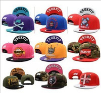 Wholesale Hot Trukfit adjustable snapbacks cap flat brimmed hats hip hop hat baseball caps