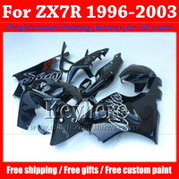 ABS moto aftermarket fairing for KAWASAKI Ninja ZX7R 1996- 20...