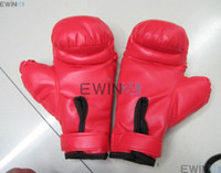 Gym kids boxing gloves - Kids Adults Boy Girl Boxing Punching Red Sports Gloves Aerobics
