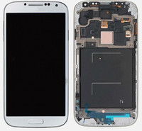 Wholesale for Galaxy S4 I9500 I9505 Full LCD Screen Touch Screen Digitizer Middle Frame Board for Samsung Galaxy S4 i9500