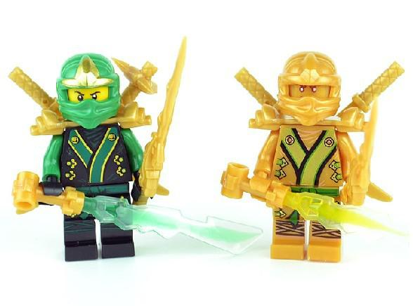 Worksheet. Decool Ninjago Golden Ninja Green Ninja ZX Building Block Sets