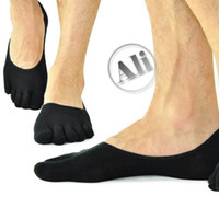 Wholesale NEW Antibacterial Breathable Stealth Cotton Five Toe Socks Leisure socks
