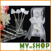 Wholesale Romantic Wedding Supplies Wedding Favor Wedding Halls In Europe And CM America Love Deep Fruit Fork