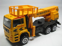 Wholesale 1 alloy construction dump truck pull back alloy car model toy boutique F9