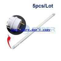 T8 22w SMD 3528 Free Shipping 5pcs Lot T8 8W LED Tube Light Bulb Lamp, 3528SMD Fluorescent 1000 Lumens