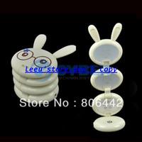Holiday SMD 3528 Yes Lovely White Rabbit Shape USB Folding Up LED Desk Lamp Table lamp Free Shipping 8742