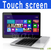 Wholesale Touch screen laptop inch touchscreen notebook Intel Celeron U Win7 OS wifi HDMI camera Ghz dual core Touch panel screen laptop