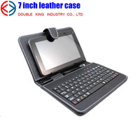 Wholesale USB Keyboard Leather Case Smart Cover Bag Stylus Pen For quot Tablet PC