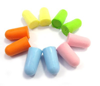 Wholesale Ear Foam Soft Ear Plugs Noise Reduction Earplugs sleeping aid