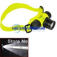 Wholesale Promotions CREE Q5 LED Lumens Waterproof m Diving Headlamp Headlight Flashlight Torch TK0240