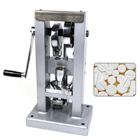 Wholesale TOP Tablet press machine single punch type pill press pill maker tablet press mini type manualD1