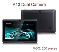 Wholesale quot a13 tablet Allwinner A13 Android Capacitive GHz MB GB Dual Camera Tablet PC PB7120