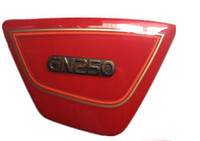 Wholesale motorcycle Right amp Left Frame Side Covers Panels for suzuki GN GN250 RED amp BLACK D