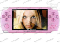 Wholesale LLFA1469 quot LCD Game Console PMP MP4 MP5 Player GB Free games Media Player AV Out FM with Camera