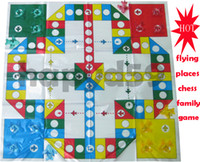 Wholesale free ship D family game children toy high quality fashion flying places chess aeroplane chess