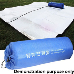 Wholesale 200 x cm Aluminum Backing Insulating Insulation Foam Camping Mat Blanket Cushion Pad for Camping Hiking