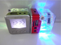TT- 028 LED Crystal Mini Music Speaker Portalble Spearker for...