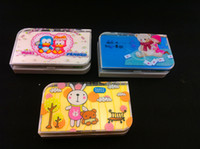 Wholesale contact lens case big size lens case contact lens case kit set