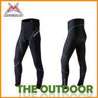 Wholesale Cycling Pants Lycra Men Size Black Fleece Winter Trousers Comfortable Free Shiping Cycling Jerseys HW0187