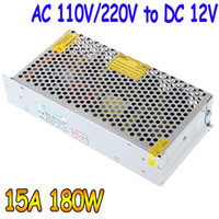 Wholesale AC V V to DC V A W Voltage Transformer Switch Power Supply for Led Strip amp Led billboard