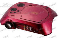 Wholesale LLFA1474 Discount Portable DVD Projector lumens HD P projector with DVD playback