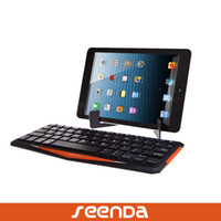 Wholesale Rechargable Tablet Bluetooth Keyboard for iPad iPad2 rd Samsung Galaxy Tab Galaxy Note inch IOS Android windows OS